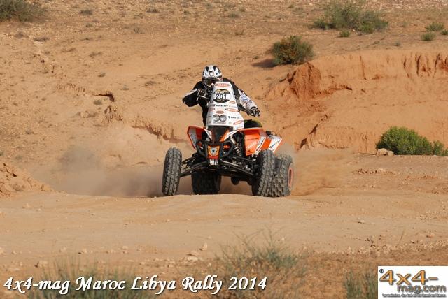 Libya Rally 2014 Classement Motos et Quads en Image