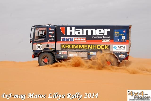 Libya Rally 2014 Classement Autos et Camions en Image