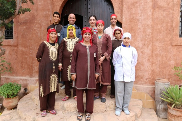 L'équipe d'Atlas Kasbah