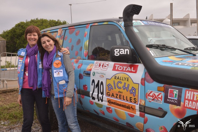 Rallye Aïcha des Gazelles 2015 partie 2