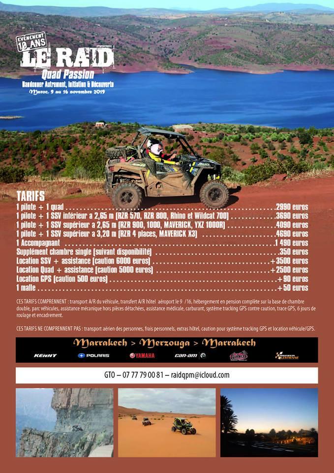 Raid Quad Passion Magazine