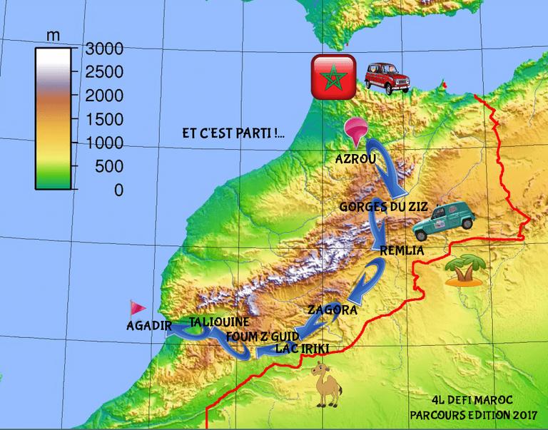 4L Défi Maroc 3° Edition 2017 et 1° édition automne 2017