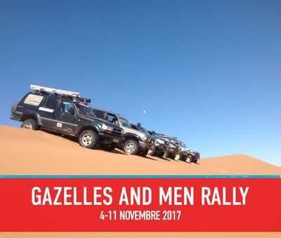 Gazelles and Men Rally