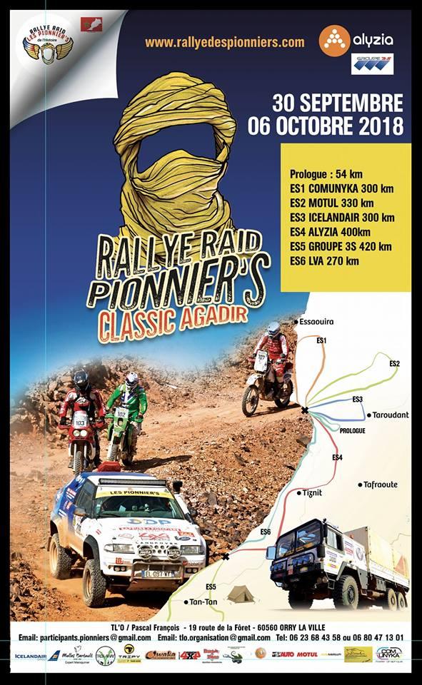 Pionnier's Classic Agadir 2018
