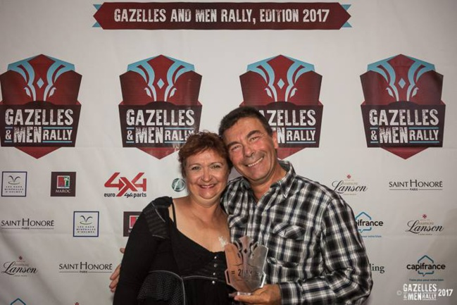 Gazelle & Men Rally 2017, le récit de Pascal et Fabienne Team 118