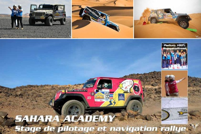 Stages de formations rallye, raids au Maroc