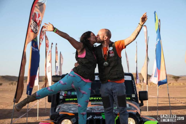 Gazelles & Men Rally 2020 - Team Vulpes Zerda - David D'orsi & Jennifer Kalka
