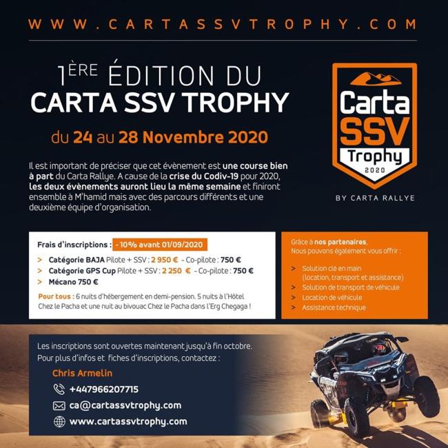 Carta SSV Tropy