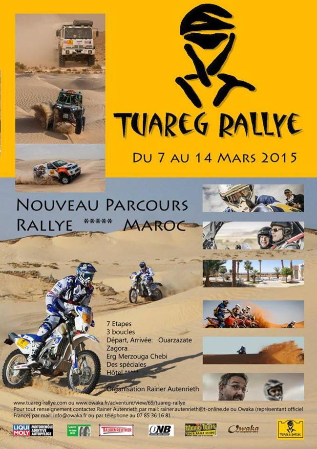 Tuareg Rallye Maroc du 07 au 14 mars 2015