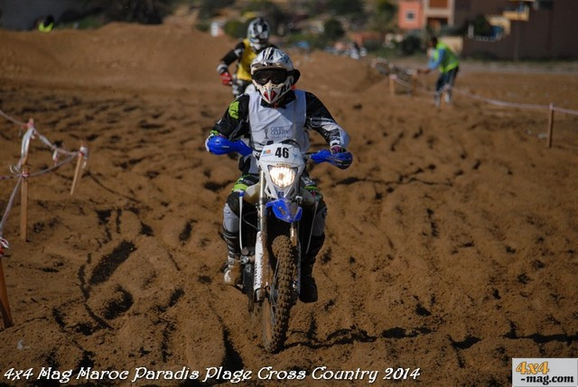 Cross Country Paradis Plage Seconde Edition 2014 Classement Motos en Images