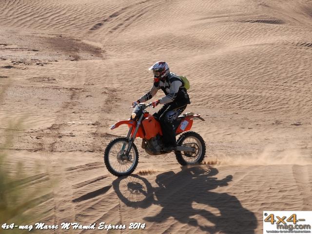 M'Hamid Express 2014 5° Classement en image Motos et Quads.