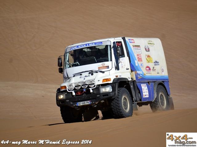 M'Hamid Express 2014 Classement en Images Autos 4x4
