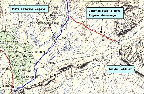 Traversée Tazarine-Zagora
