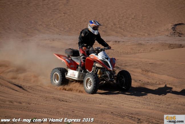 M'Hamid Express 2015 classement en image Motos et quads