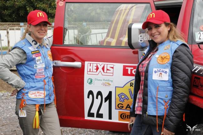 Rallye Aïcha des Gazelles 2015 partie 1.