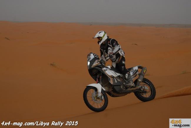 Libya Rally 2015 Maroc Classement en images Moto Quads