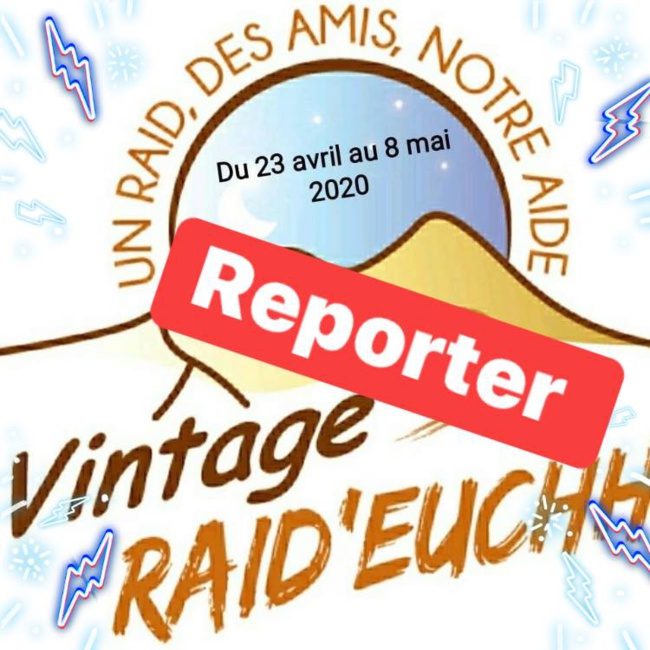 Les raids du second semestre 2020.