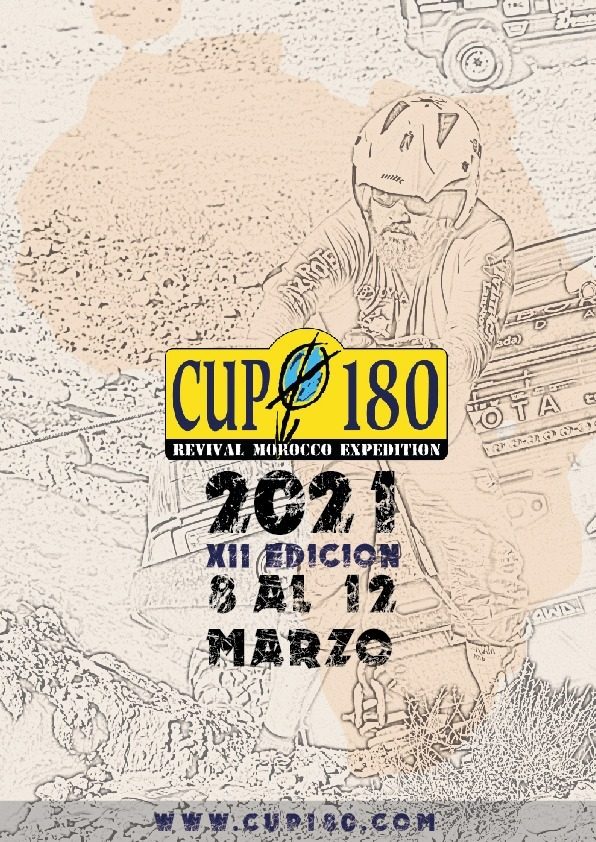 CUP 180 REVIVAL MOROCCO EXPEDITION