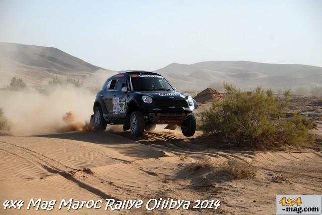 Nasser Al-Attiyah - Matthieu Baumel sur la MINI Q- X Raid Racing Team (n°301) remportent la 15ème édition du OiLibya du Maroc !