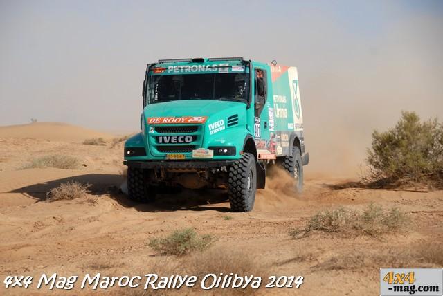 1er place en catégorie camion pour Gerhard De Rooy - Darlusz-piotr Rodewald - Jurgen Damem Petronas Team IVECO (n°401)