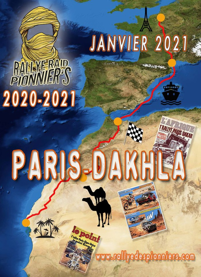 Rallye Raid Les Pionniers de l'Histoire Maroc édition