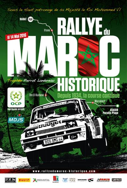 7 me dition du rallye du maroc historique du 09 au 14 mai 2016. Black Bedroom Furniture Sets. Home Design Ideas