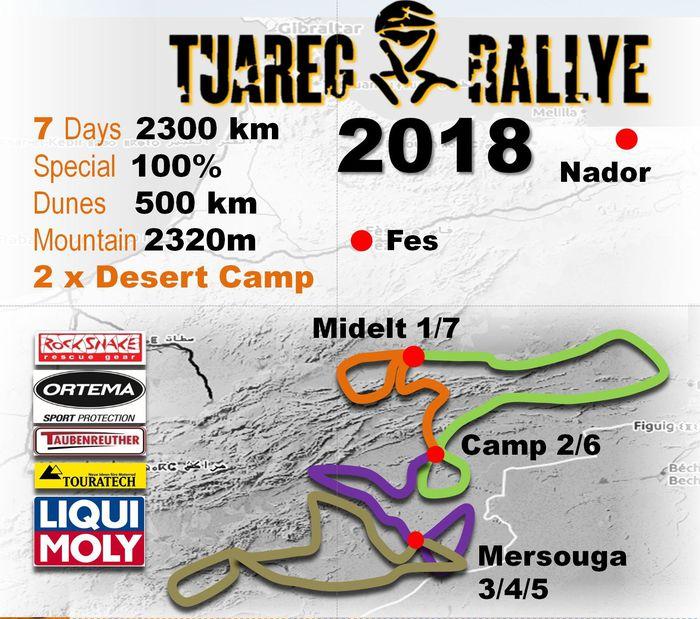 Tuareg Rallye 2018