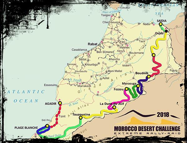 Morroco Desert Challenge 2018