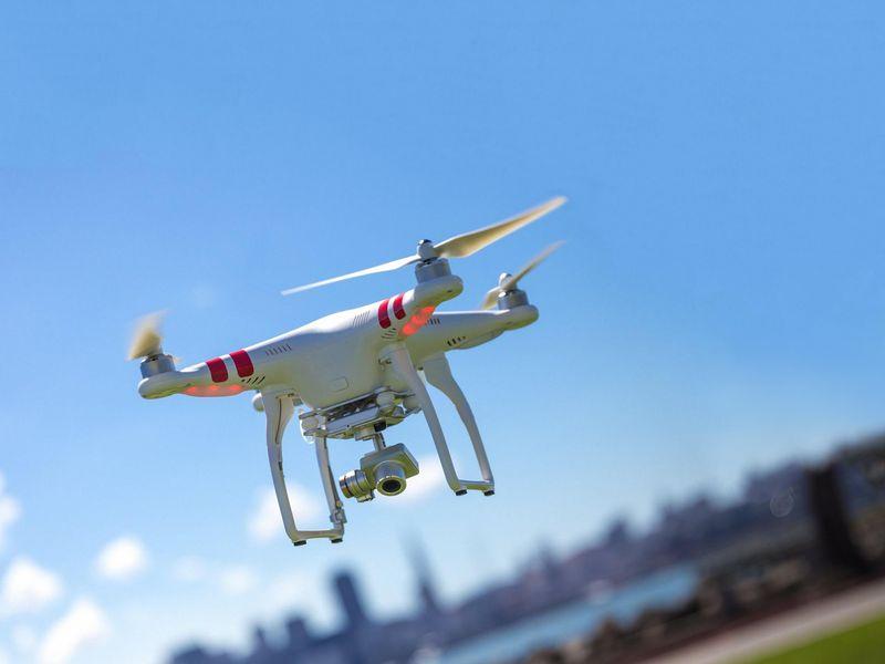 Utilisation des drones au Maroc