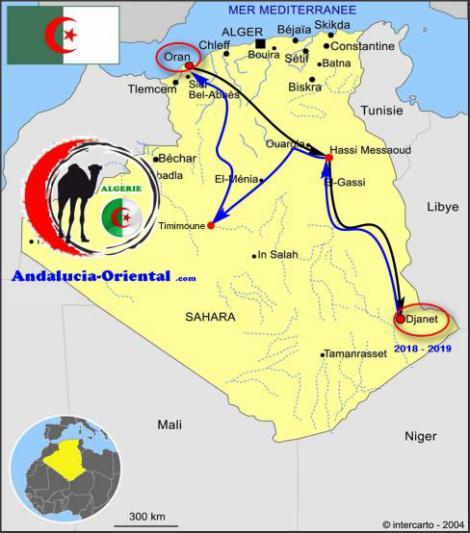 Raids en Algérie