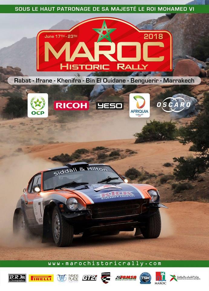 9ème édition du Rallye du Maroc Historique Du 17 au 23 juin 2018