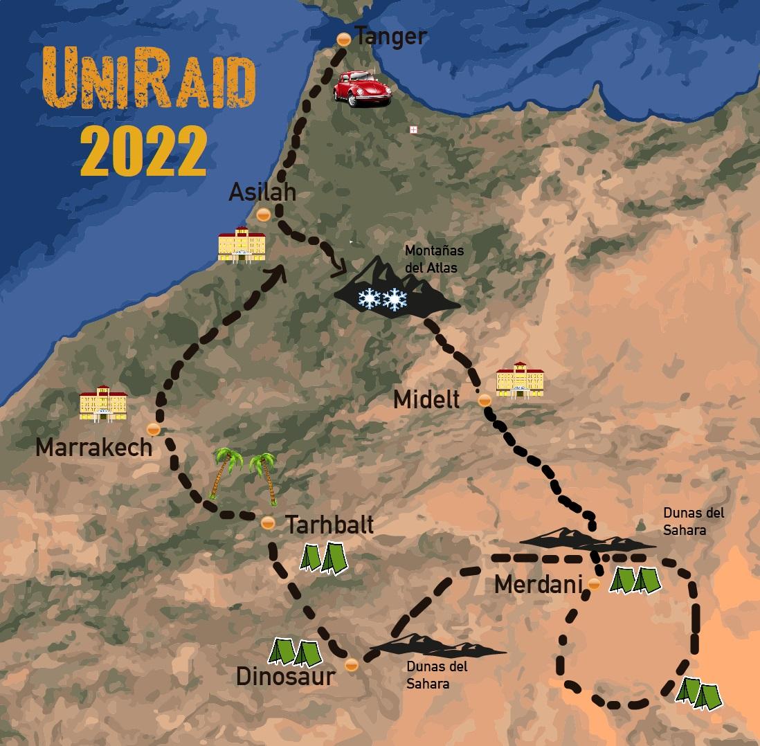 Raids anciennes et historiques au Maroc