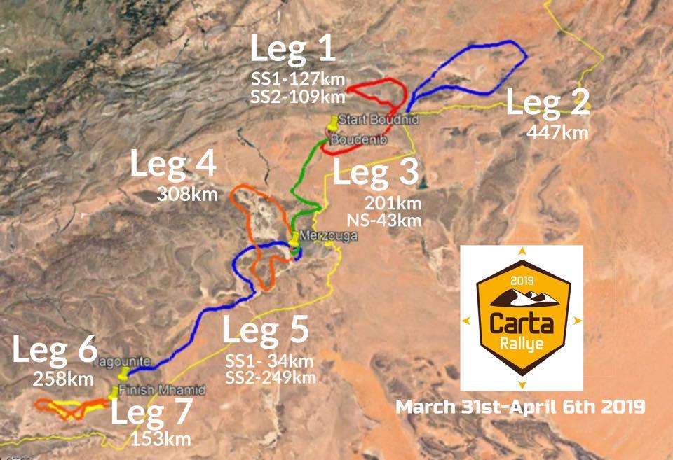 Carta Rallye 2019: 6° édition