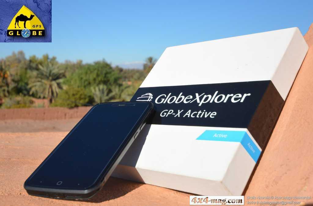 GP-X Active, Le smartphone Durci le plus performant du marché.