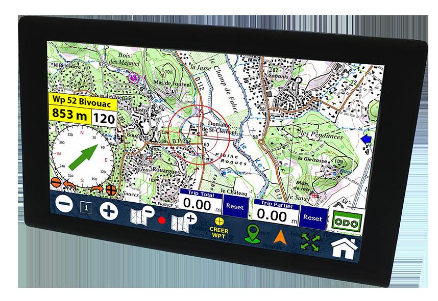 Globe 900 Le 1er GPS 9 pouces du marché!