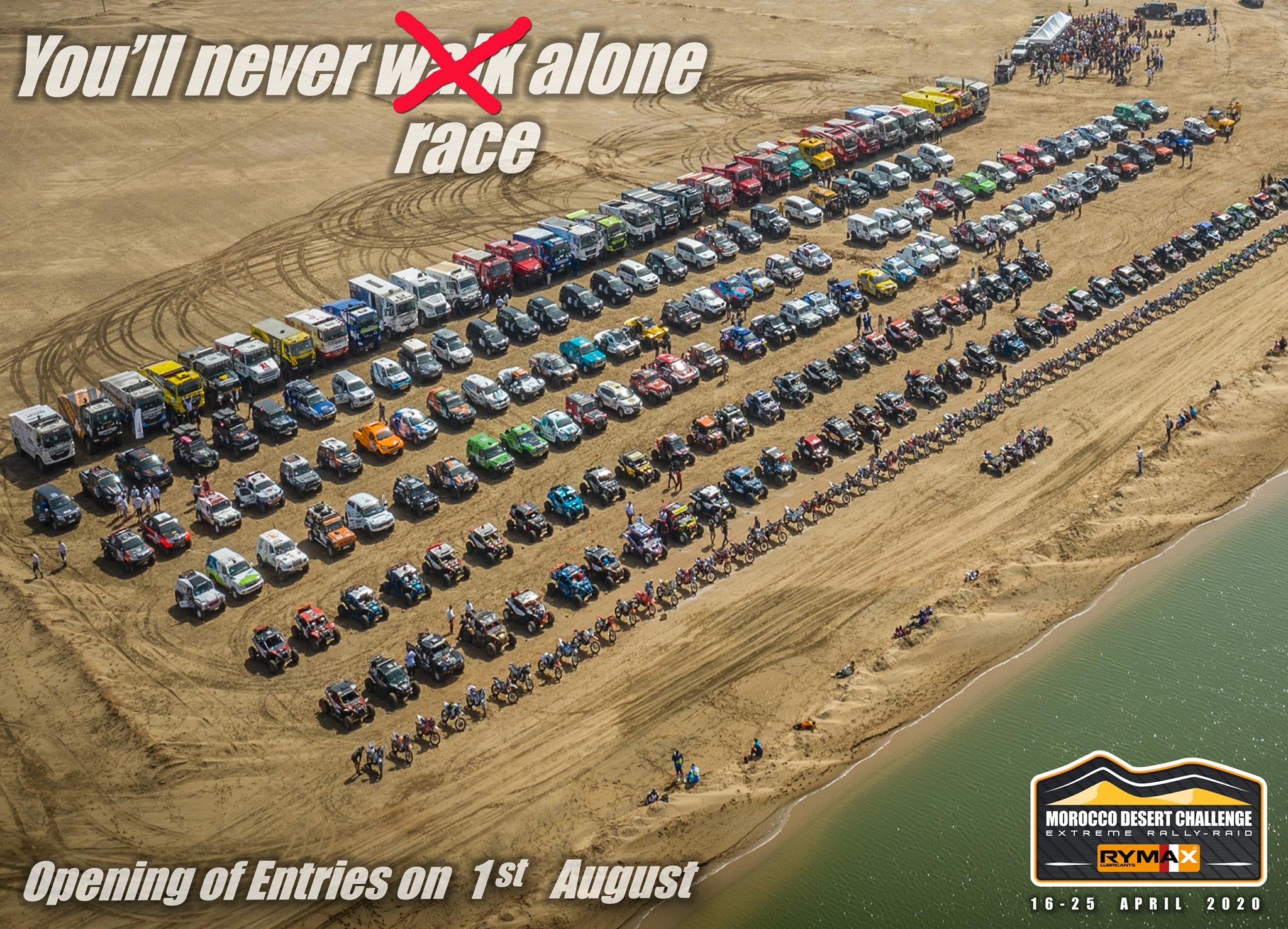 Morocco Desert Challenge 2020 du 17 au 26 septembre.