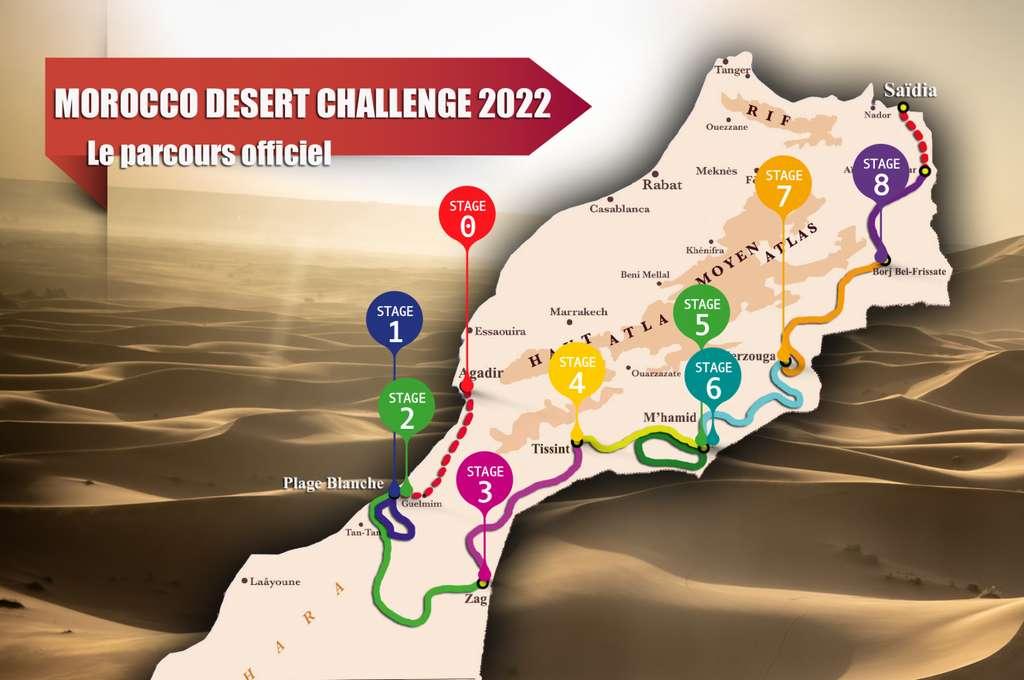 Morocco Desert Challenge 2020 du 16 au 25 avril.