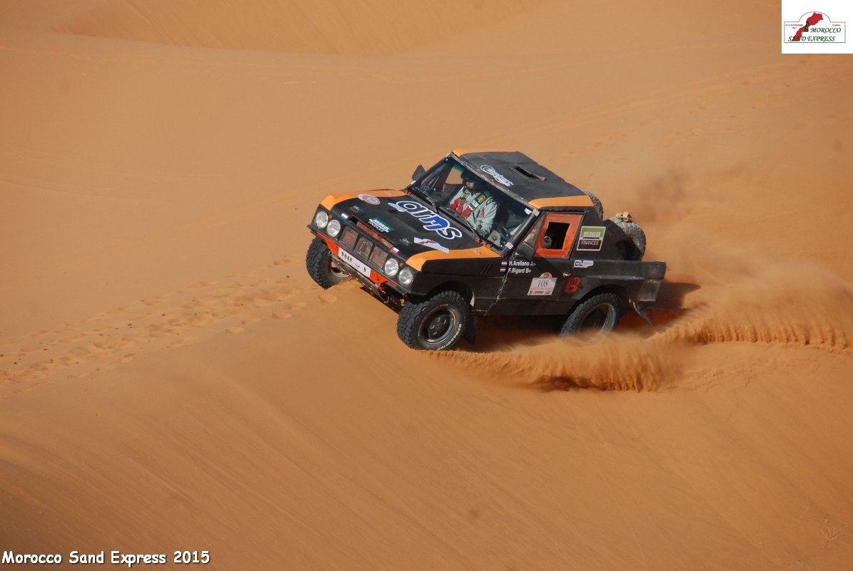 LE MOROCCO SAND EXPRESS 2015 2° Edition
