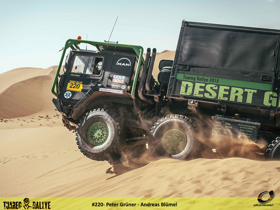 Tuareg Rallye 2016: Le grand rallye du désert...