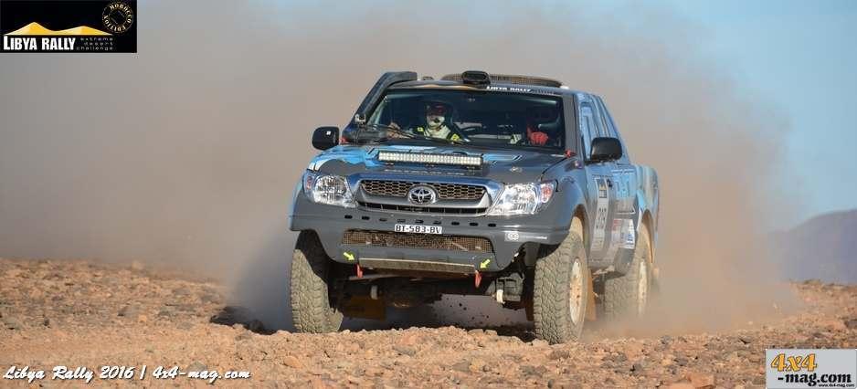 Libya Rally 2016 Les classements