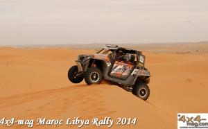 Libya Rally 2014 Classement SSV et Buggys en Image