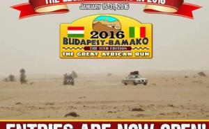 Rally Raid  Budapest-Bamako 2016